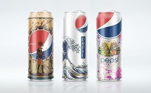 Você não vai resistir a essas latas de Pepsi multiculturais