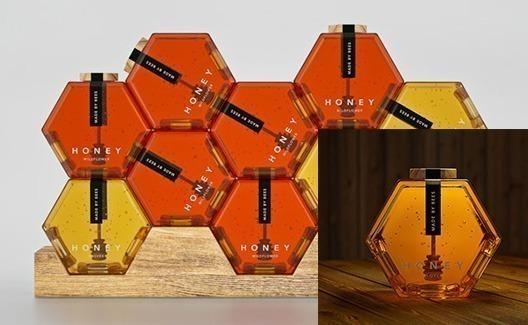 Conheça o melhor design de embalagem de mel da história: o Hexagon Honey! 2