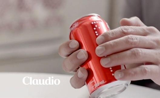 Coca-Cola faz latas com nomes em braille! 1