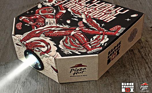 Pizza Hut lança caixa que vira um projetor – é a Projector Box! 1