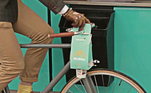McBike: McDonald's lança embalagem para ciclistas! 1