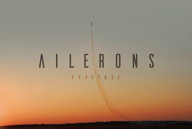 Fonte Gratuita: Ailerons – inspirada em aeronaves! 1
