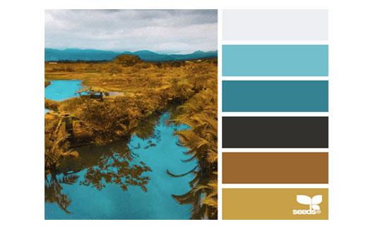 DESIGNERS: Paletas de cores inspiradas na natureza! 7