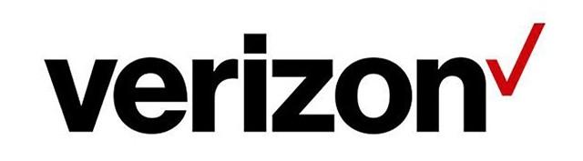 Redesign novo logo da Verizon