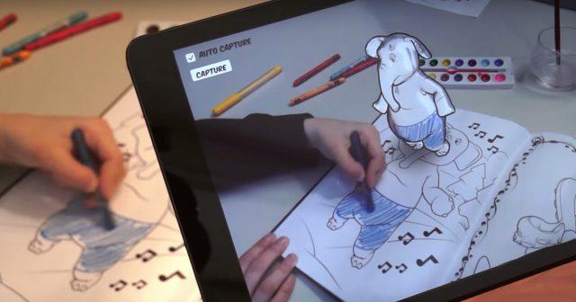 Disney cria livro de colorir 3D que traz seus desenhos a vida! [VÍDEO] 1