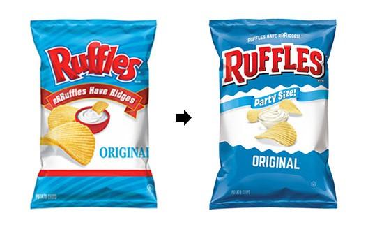 Redesign! O novo logo do Ruffles chegou! 1