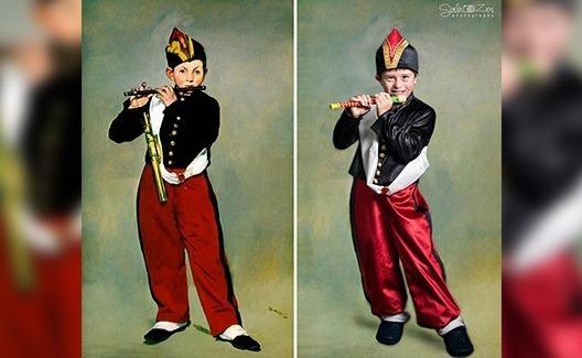 Crianças com Síndrome de Down remontam grandes pinturas! 1