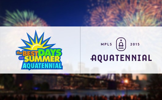Redesign DAQUELES! Novo logo para o Minneapolis Aquatennial! 1