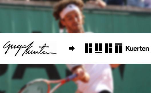 O novo logo do Guga (Gustavo Kuerten)! 1