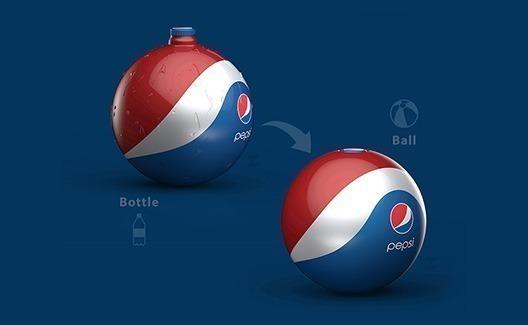 Conheça essa bela garrafa-bola da Pepsi! 1