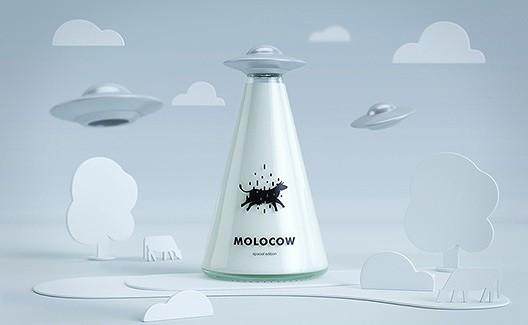 Molocow: um novo conceito de garrafa de leite no Quirguistão! 2