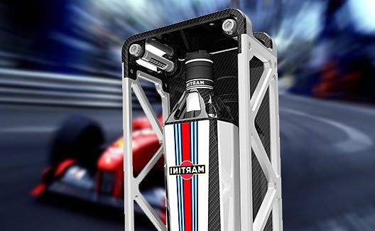 Nova garrafa de Martini Formula 1 Design! 6