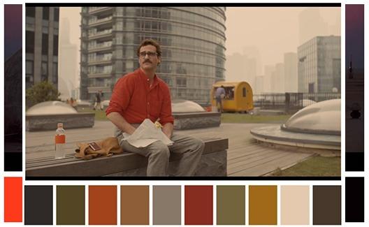 Faça seus projetos com palestas de cores de filmes famosos! 5