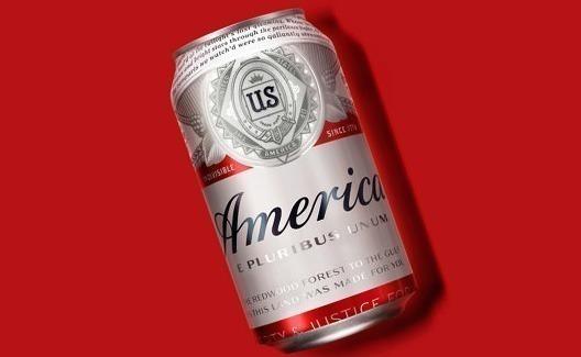 """Depois de redesign, Budweiser muda nome para """"America""""! 3"""