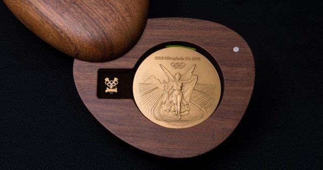A Embalagem das Medalhas Olímpicas Rio 2016 4