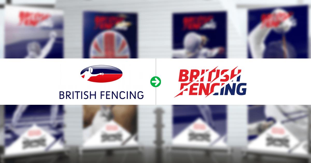 O redesign MARAVILHOSO da Associação Britânica de Esgrima! 1
