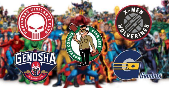 Times de basquete da NBA ganham versão Marvel Comics 1
