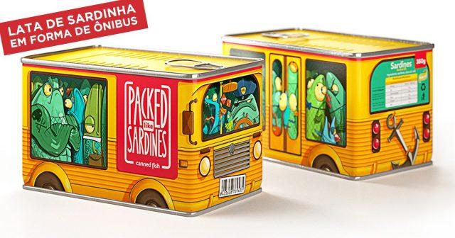 Packed Like: as embalagens de sardinha criativas como você nunca viu! 5