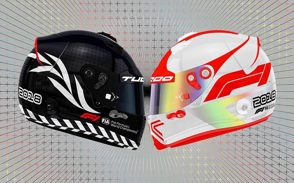 Nova marca da Formula 1 nos capacetes