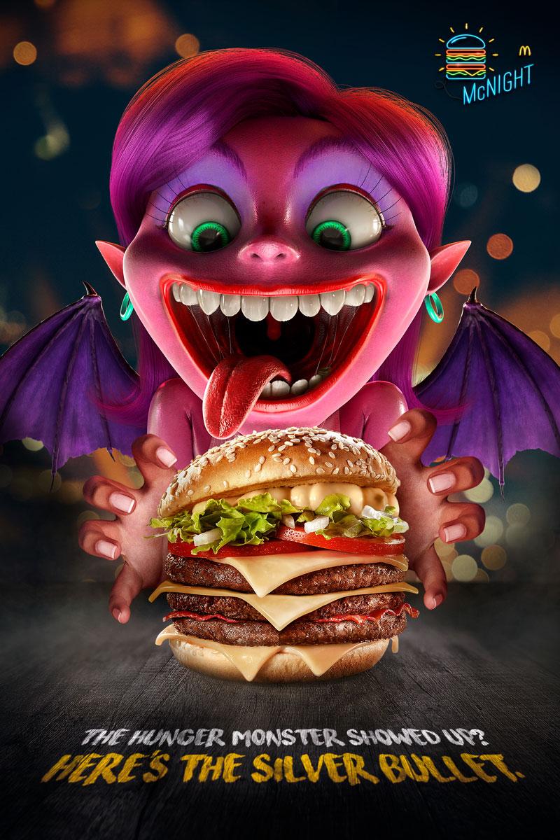 """Campanha do McDonald's e o """"Monstro da Fome"""""""